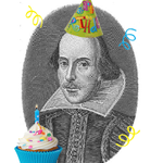 Many happy returns to William Shakespeare. #HappyBirthdayShakespeare #Shakespeare450th http://t.co/qnwNVGwwm5