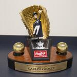RT @Brewers: .@C_Gomez27 Gold Glove Bobblehead Day is 4/27 @ Miller Park! Get your tix: http://t.co/932Nl6mjXY #Brewers #MILvsCHC http://t.co/qXbCBk9gNd