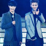 RT @EXO_FANBASE: [HQ] 140420 Luhan & Lay @ Best Of Best in Nanjing 1 (cr: eleanor1412) http://t.co/fuJGMfNTwA