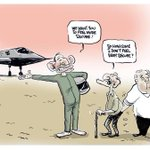 RT @RedDragon1917: Brilliant cartoon on the recent talk on pension cuts and stealth fighter purchases #auspol #ausunions @RedFlag_news http://t.co/Jh3CYFNhxK