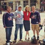 Wanna get a #WeAreThe5thLine shirt like the one in our @Kristyn10TV interview? Go to @homage today and get one! #CBJ http://t.co/EpwZvPOZq1