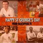 Happy St Georges Day from all at Blackpool FC. http://t.co/ATClfOCRyD