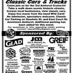 RT @AmherstCoChmbr: Mark your calendars! Amherst Cruise-In - Sat. April 26, 5p-8p in collaboration w/ the Amherst Fire Dept Dinner. http://t.co/lvQqGXC9bq
