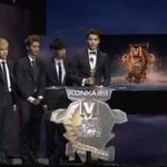 RT @EXOind: EXO won ASIAN MOST INFLUENTAL GROUP award on the 18th China Music Awards Ceremony! Congratulations EXO! http://t.co/NtrhEkcXbc