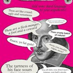 RT @VisitBritain: Next time youre in a war of words, why not throw in some Shakespeare? You mouldy rogues! #HappyBirthdayShakespeare http://t.co/g6vQTA1lHh