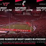 DYK: record number of NIGHT GAMES for football in 2014! 4 total & 3 in #TheShoe. Are you ready?! #GoBucks http://t.co/pcwfy9a7cq