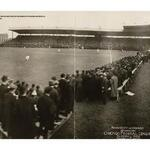 RT @chipublib: Happy 100th Birthday, Wrigley Field! The first game at Wrigley, courtesy of @MLB_PR @Cubs #WrigleyField100 http://t.co/P2CHEUwGgS