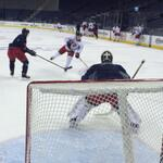 Bob and @BlueJacketsNHL during morning skate @NationwideArena #BattleOn #WeAreThe5thLine #CBJ http://t.co/IAWXUZid74