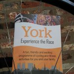 Dropping right now all over town! Vive Le Tour! #granddepart #letouryorkshire #tdf #York http://t.co/XGvLymHMv5