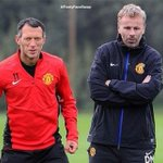 David Moyes and Ryan Giggs http://t.co/m9Vv1fvuET