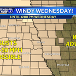 RT @KETVstormteam: The Wind Advisory has been extended to include the Omaha metro. Blustery conditions expected through 6:00 PM @KETV http://t.co/8PGsC2cIGR