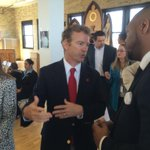.@SenRandPaul just arrived. in #MKE today hosting #SchoolChoice roundtable at St. Anthony School http://t.co/spjfaP2SU7