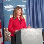RT @SunTrevorRobb: Hon. Rona Ambrose, Minister of Health, announces an additional $20 million in govt funding to GAVI Alliance #yeg http://t.co/jEjbS6OtsI