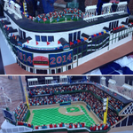 RT @BrewersHank: But its missing the championship banners.  RT @MLBFanCave: The #WrigleyField100 cake from @CarlosBakery is amazing: http://t.co/r0uvf40nRm