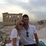 Hello my friends! I am in good hands, recovering and enjoying beautiful Athens #Acropolis #NoleFam @JelenaRisticNDF http://t.co/KD9LwgPcJ0