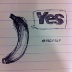 #Slightlypasttheirsellbydatebananasforindependence #yes #indyref ink on note paper, valued at £2m. http://t.co/2BfuPCOWwm