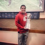 RT @AndrewFurney: Great day getting to visit the Seahawks, even got to hold the Lombardi trophy! http://t.co/joVC4BkR99