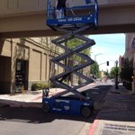 Downtown #Napa gets a new coat of paint. Remodel work continues at former Town Center. http://t.co/9460U2CJqK