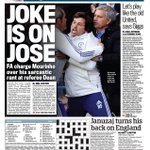 "RT @suttonnick: Thursdays Daily Mail back page - ""Joke is on Jose"" #cfc #tomorrowspaperstoday #bbcpapers http://t.co/85M9BgfUyt"