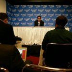 #Heat coach Erik Spoelstra addresses media before Game 2 vs #Bobcats. @ndn http://t.co/8IZU3ih72k