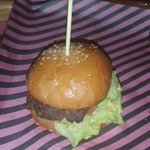 My mini burger at the #twEATup #eatfest @Eatjo http://t.co/2gLN5bJIl7