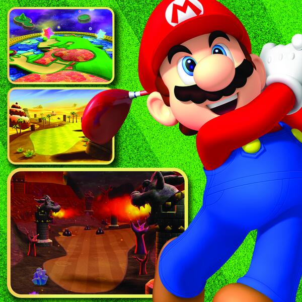 More fore! Fans who cant get enough #MarioGolfWorldTour will be able to download new courses and characters on 5/2.