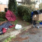 Scene outside #burnaby building where #homeless numbers to be released soon #vanpoli http://t.co/AmiIdZh8DW
