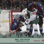Pregame at 8 p.m. @kfan1003 RT @mnwild: BREAKING: #mnwild #avs Game 5 at 8:30 p.m. (central) on Saturday http://t.co/1QefJeTbt3