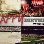 From a 92-year old Shoe ... Happy 100th Birthday to you, Wrigley Field! #WrigleyField100 #TheShoe @Cubs @MLB http://t.co/tCpk8sCvUz