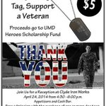RT @UMNDuluth: Support veterans at UMD: Heroes fund event Thurs., April 24 at 4:30 pm at Clyde Ironworks http://t.co/55HL6II5Fs http://t.co/Tq4skW7d39