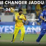 RT @MSDIAN7: Man of the match ! Main reason for victory Jaddu !! whistle for jaddu !! http://t.co/uKBMdgdarS