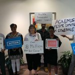 RT @OFA_TX: #OFAction in DFW : Volunteers went to @RepKenMarchant office in Irving to him and his staff know #WhatRepealMeans http://t.co/Kb4FOsHxEq