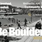 Celebrate Community Day with @CUSGBoulder. Free food & fun 12-2 on the @CU_UMC terrace! #beboulder http://t.co/lnjbqOWeXg