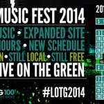 JUST ANNOUNCED! Live On The Green official 2014 dates with 3 day Music Festival finale. #LOTG2014 http://t.co/50nJttdiXh