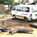 SOUTH SUDAN INSANITY: Slaughtered - note the men had their FEET CHOPPED OFF! http://t.co/kArEStpUMt