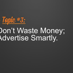 You can do really smart advertising on social media. Create engaging content and target effectively! #WLW14 http://t.co/lsO10U93CD