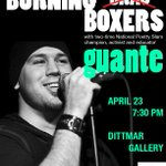 Spoken word artist Guante is coming to Dittmar at 7:30PM tonight for Take Back the Night at Northwestern! http://t.co/UhCkU0VgiN
