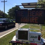 Is a Fla. bear hunting season a good idea? Some say this sign isnt enough. Vote: http://t.co/KUv5MmZSQV #WFTVat4 http://t.co/4XrfkA1AOk