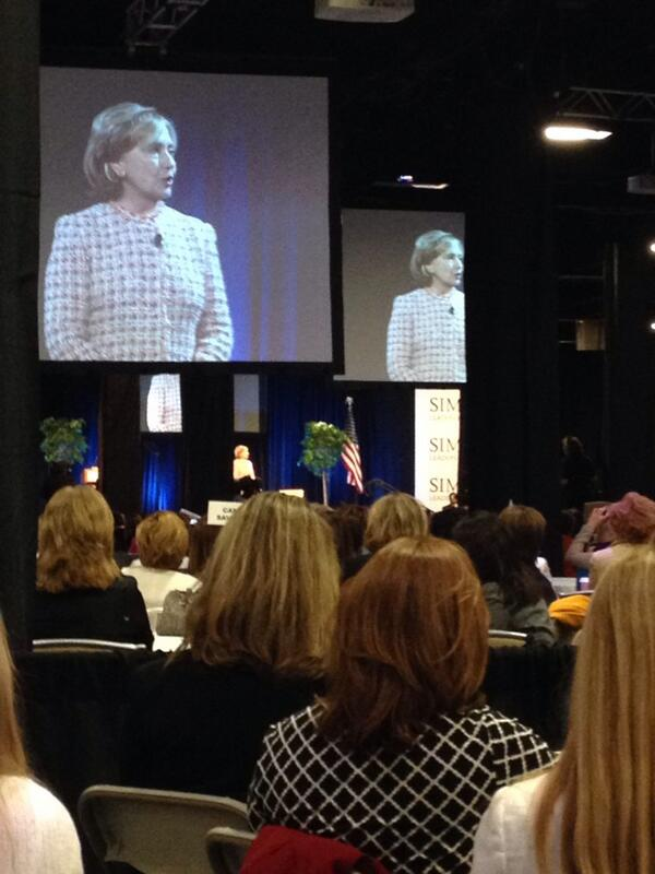 Improving the rights of women & girls is the unfinished business of the 21st century. Secretary Clinton #slc14 http://t.co/x6IoQtrTha
