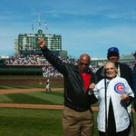 RT @Cubs: Dutchie Caray led todays #WrigleyField100 7th inning stretch with Billy Williams, Fergie Jenkins and Dick Butkus. http://t.co/xHw77RIH5o