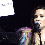 @ddlovato BRAZIL LOVES YOU, YOU ARE OUR PRIDE!!!!!!! YOU ARE THE BEST IDOL ♥♥♥♥♥♥☺ #TheNeonLightsTourBRAZIL http://t.co/q21kRBcBFS x20