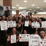 "RT @dmbartonsimms: ""@AKippsey: ""@jodiebooth: @GaryBarlow #thankyougary #gbarmy http://t.co/gP48k0fb8Z"" Love it :) #Thankyougary xxx"" awesome xx"