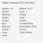 BREAKING: Dallas Cowboys schedule released. http://t.co/qYVEOCA4DH