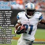 RT @BradleyGelber: No Thanksgiving game after all...? #Bills RT @freepsports: #Lions 2014 schedule. http://t.co/FydgCoQDtl