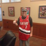 RT @Coach_Riley: Its playoff time! Got my @trailblazers jersey on! #GoBlazers http://t.co/J2QbO9FzyG