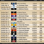 BOOM! Think we have a #Saints schedule! http://t.co/D4G83sd9S9