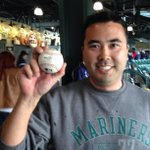 RT @ROOTSPORTS_NW: The lucky fan who caught Kyle Seagers walk off HR! Great day to play hooky. http://t.co/Q9Agh0SkDx