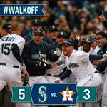 RT @Mariners: Kyle Seager blasts 3-run, #walkoff homer to top Astros. Recap: http://t.co/QoSdfcqPPp http://t.co/GnVxkwPold