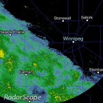 RT @WeatherInThePeg: Rain will start in #Winnipeg over the next hour or so! Right on our doorstep. #MBstorm http://t.co/KE1ws8ZJb3