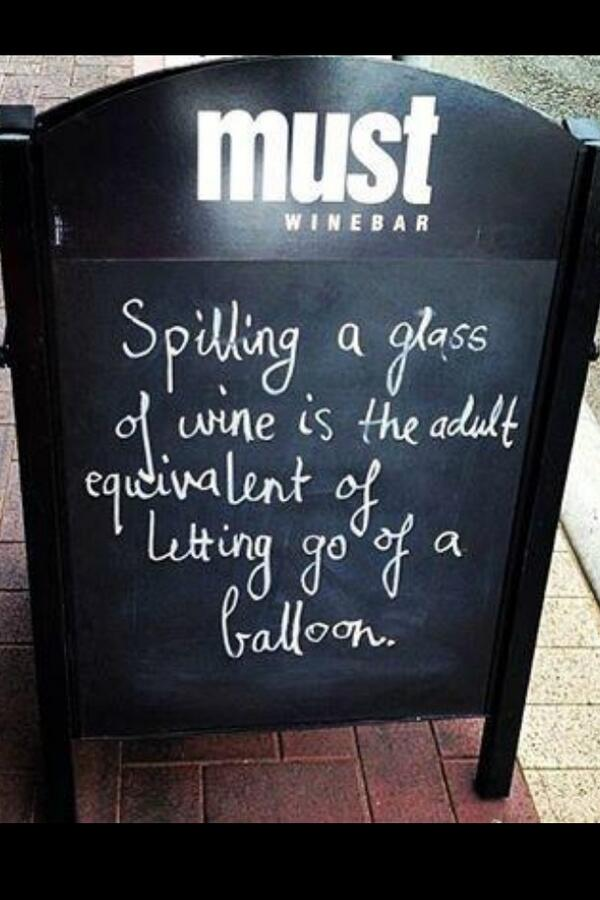 Seriously. Wine lovers, this is so true, yes? #ONWineChat http://t.co/pDp9CvgDHV